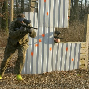 Polterabend med paintball hos Outdoor Games