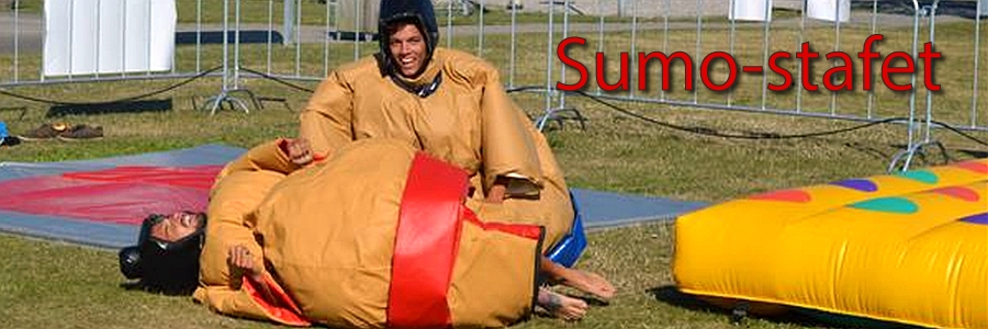 Spil Sumo-stafet hos ODG Outdoor Games